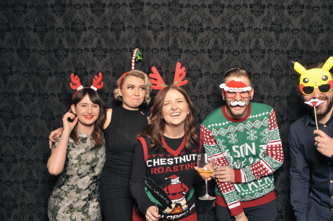 RedBloom Salon Christmas Party